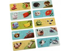 Puzzlika 12992 Mé jídlo naučné puzzle 20 dílků