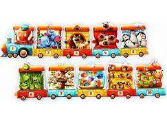 Puzzlika 13050 Vlak 94 cm naučné puzzle 20 dílků