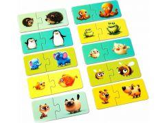 Puzzlika 13531 Moje rodina naučné puzzle 20 dílků