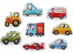 Puzzlika 15245 Dopravní prostředky puzzle 8 dopravních prostředků 16 dílků