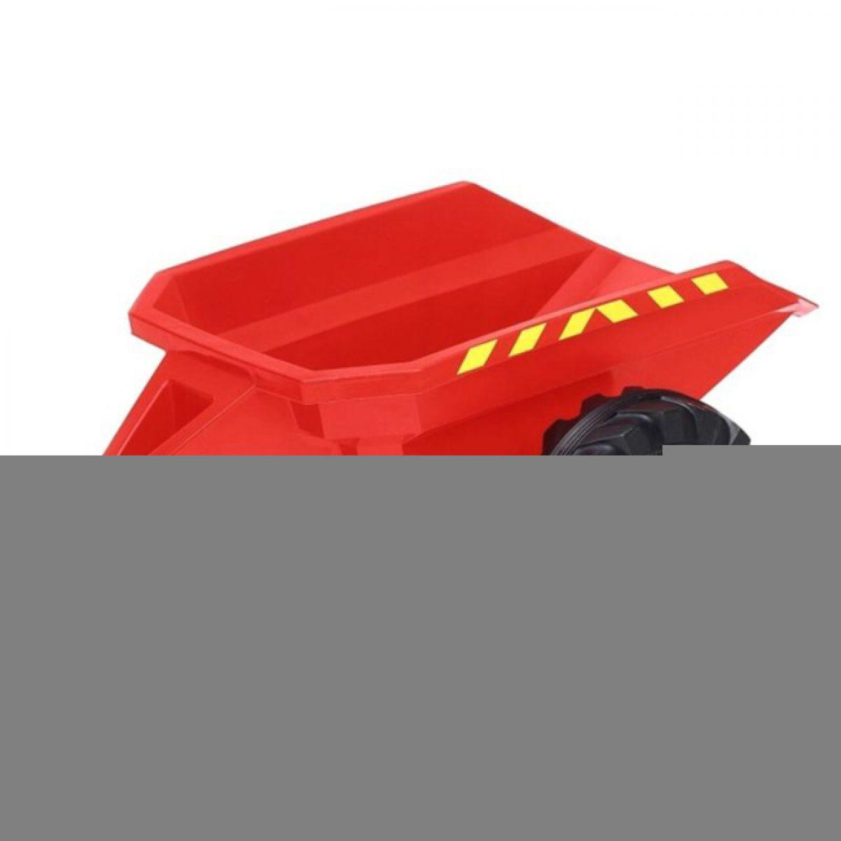 Přívěs Land Trac červený menší (2-5)
