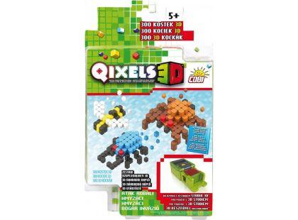 Qixels 3D Tématická sada - Hmyzáci