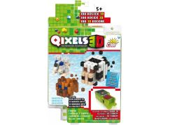 Qixels 3D Tématická sada - Zvířata z farmy