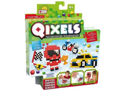 Qixels Tématická sada 87111 - Formule