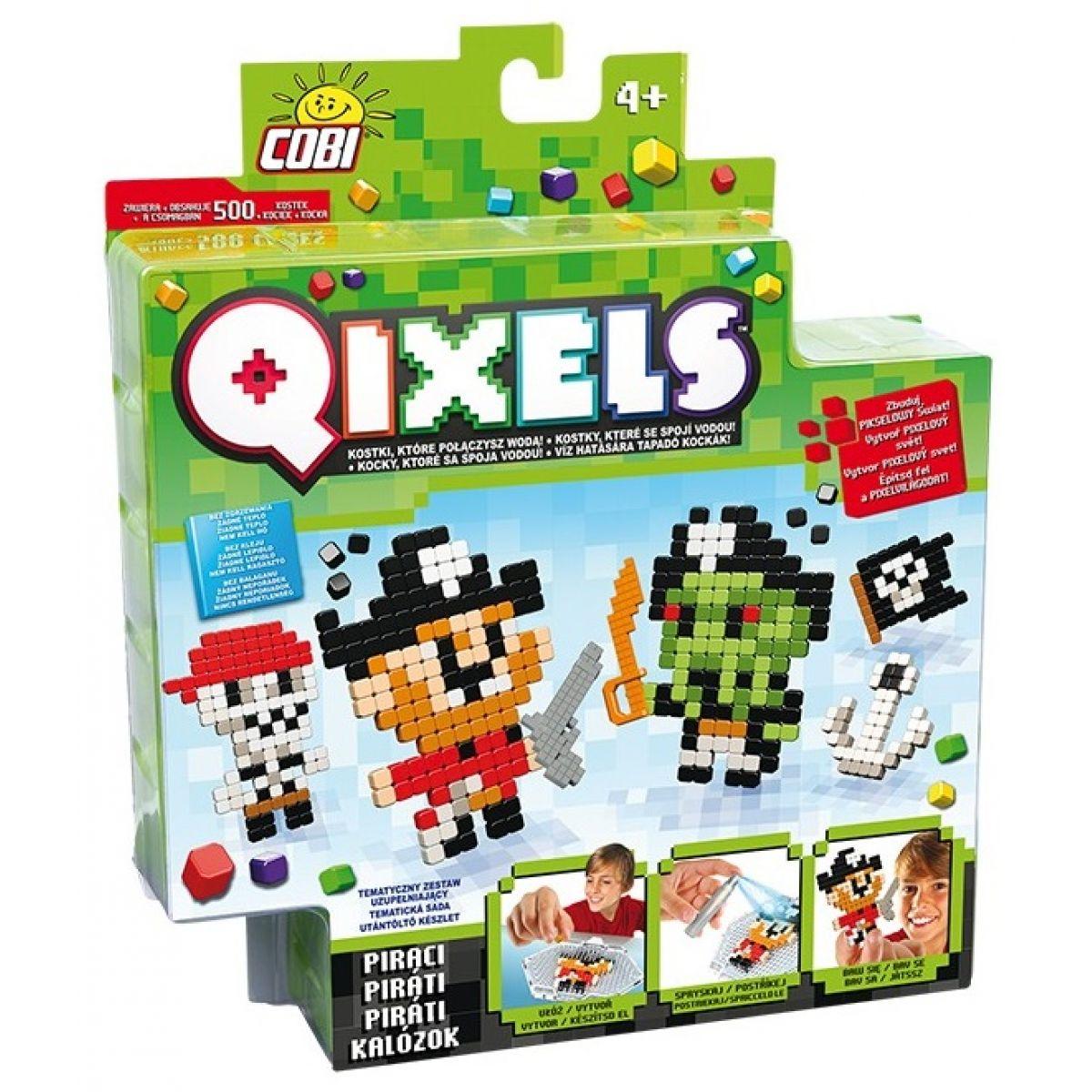 Qixels Tématická sada 87111 - Piráti