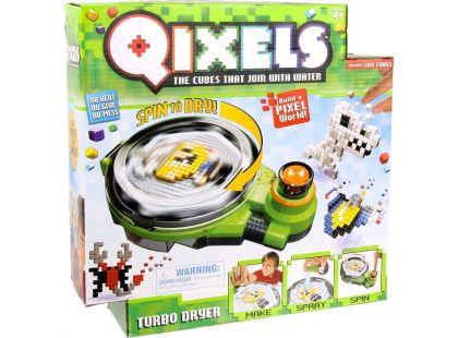 Qixels Turbosušička - Poškozený obal