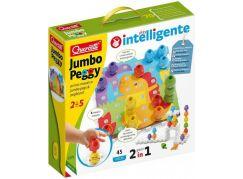 Quercetti Jumbo Peggy jumbo pegs & pegboard mozaika s velkými kolíčky 2271
