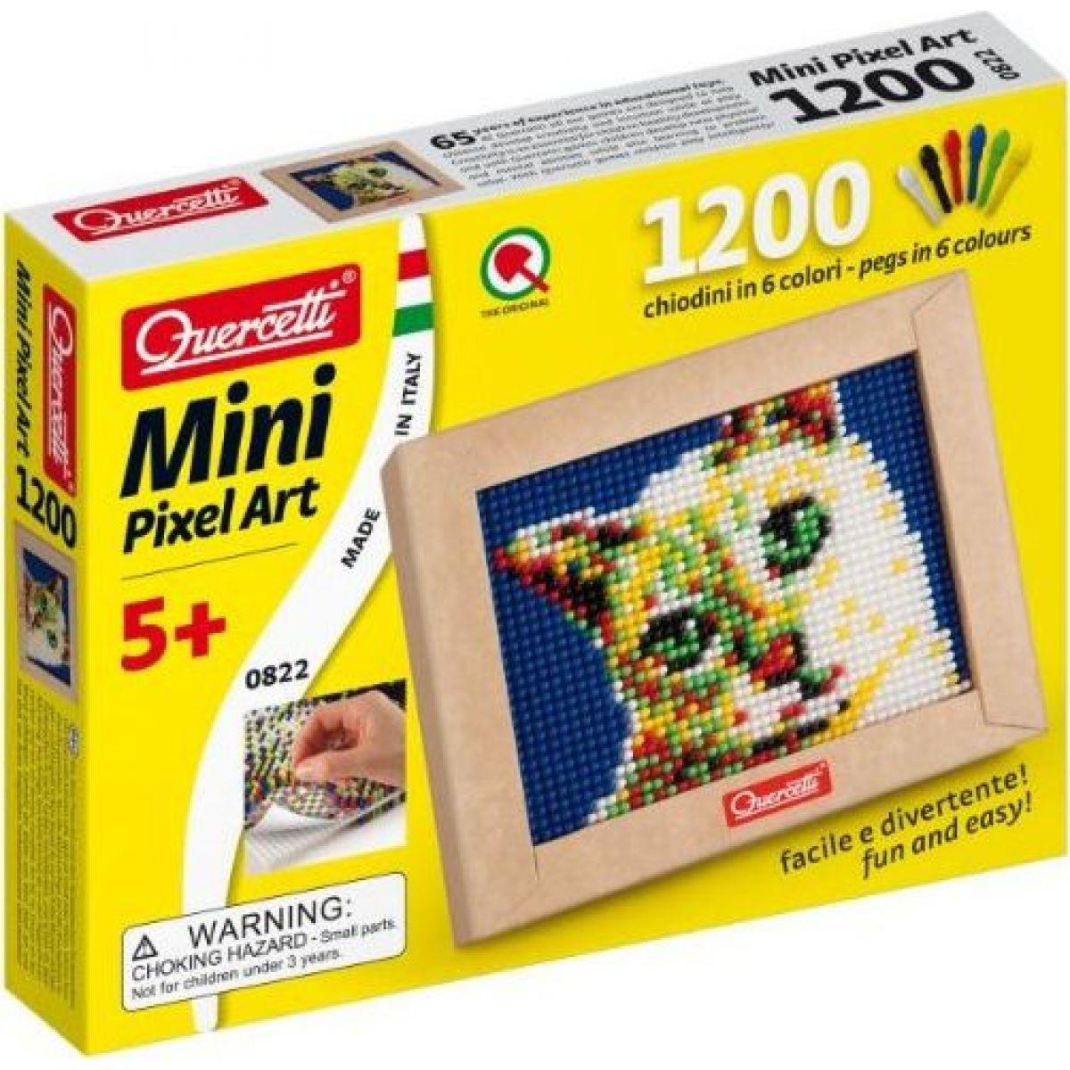 Quercetti Mini Pixel Art - kočka