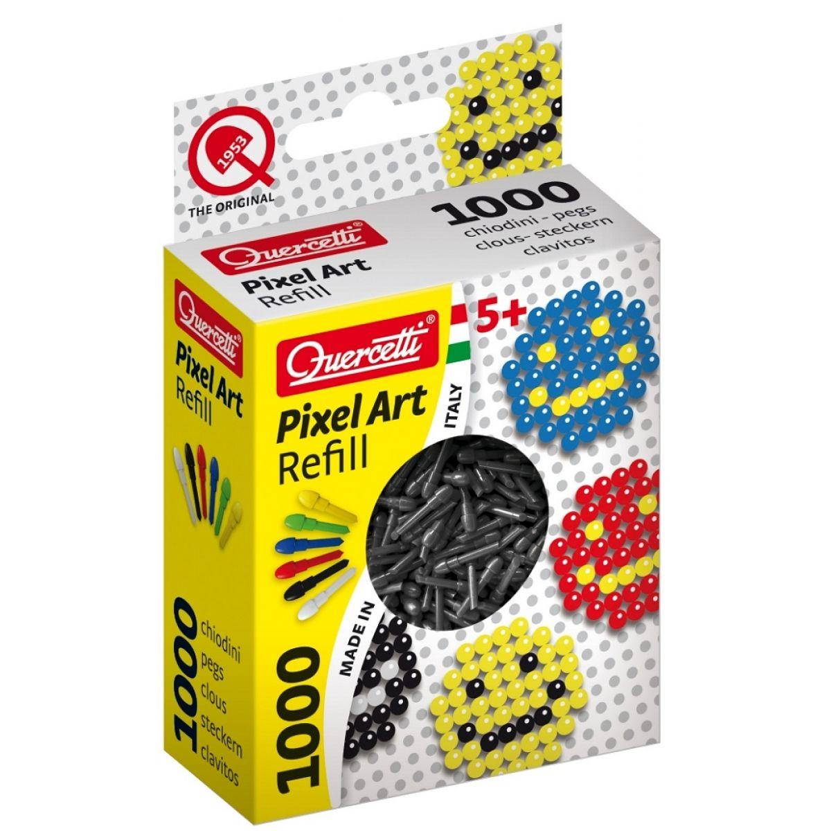Quercetti Pixel Art 1000ks černá