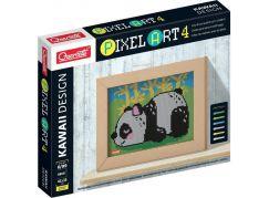Quercetti Pixel Art 4 Kawaii Panda mozaika z kolíčků