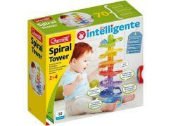 Quercetti Spiral Tower spirálová kuličková dráha