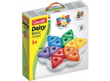 Quercetti Stavebnice pro nejmenší Daisy Basic Triangoli