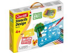 Quercetti Stencils Design Farm