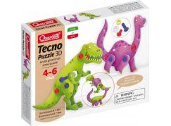 Quercetti Tecno Puzzle 3D dinosauři