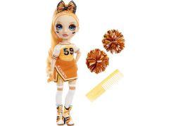 Rainbow High Fashion panenka Roztleskávačka Poppy Rowan oranžová