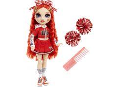 Rainbow High Fashion panenka Roztleskávačka Ruby Anderson červená