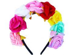 Rappa Čelenka s květinami