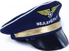 Rappa Čepice pilot dětská s nápisem nejlepší pilot