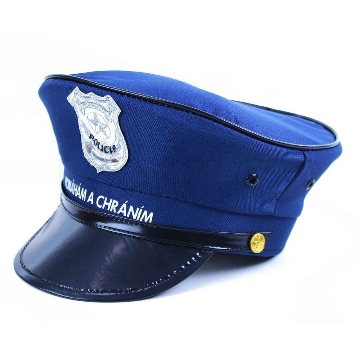 20cfe5a3121 Rappa dětská policejní čepice