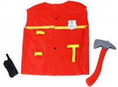 Rappa dětský hasičský plášť s doplňky