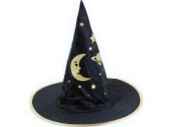Rappa Dětský klobouk čaroděj nebo Halloween
