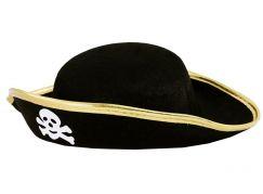 Rappa dětský klobouk pirát s lebkou