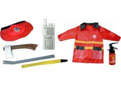 Rappa dětský kostým hasič