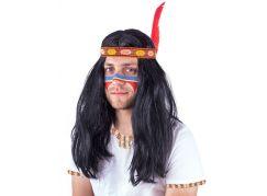 Rappa indiánská paruka pro dospělé