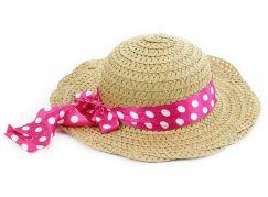 Rappa klobouk slaměný dětský
