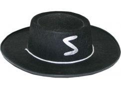 Rappa klobouk Zorro dětský