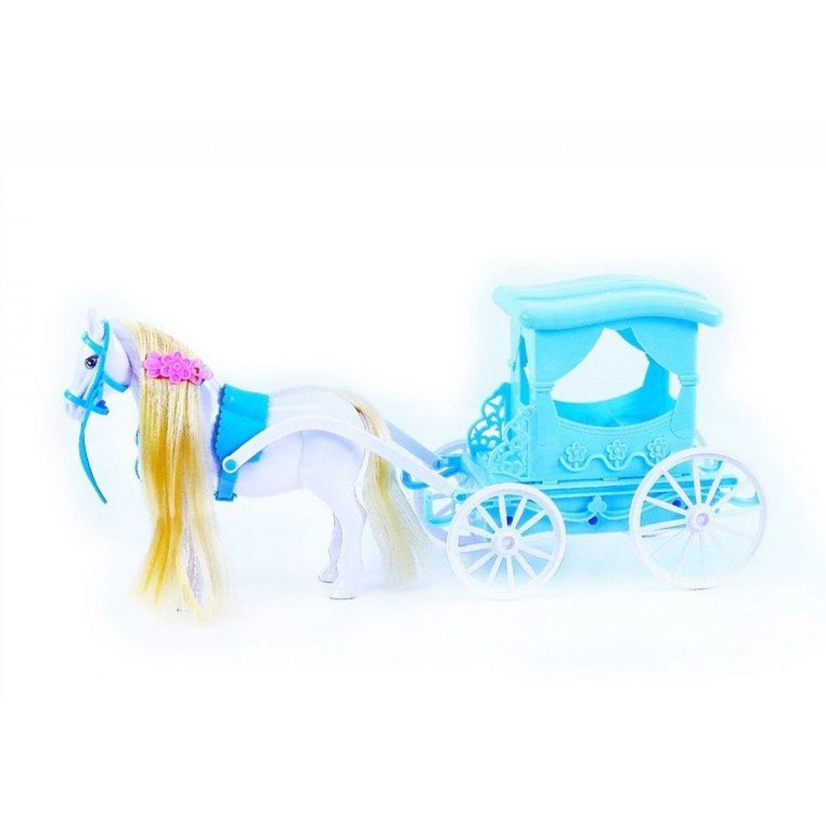Rappa kočár s koněm zimní království