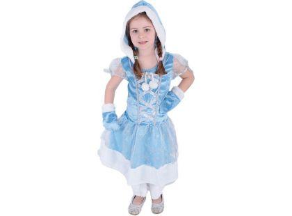 Rappa Kostým princezna kožíšková zimní vel. S