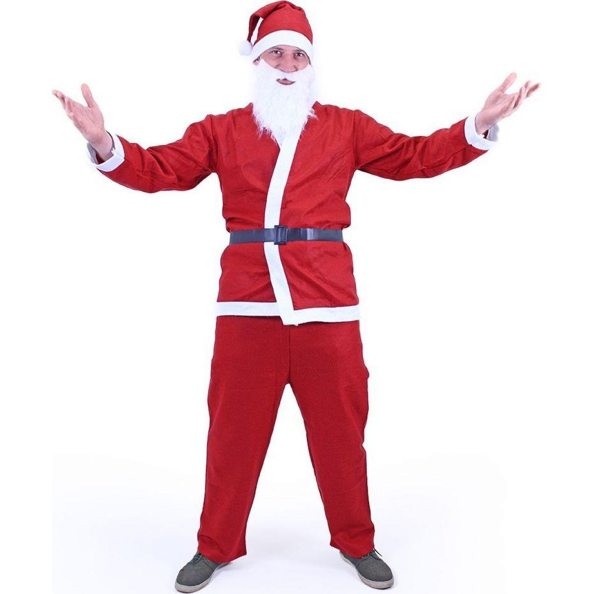 Rappa Kostým Santa Claus (bez vousů)