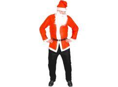 Rappa Kostým Santa Claus bunda, čepice, vousy