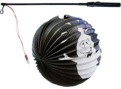 Rappa Lampion duch 25 cm se svítící hůlkou