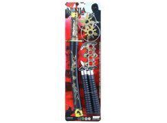 Rappa meč japonský katana s příslušenstvím sada 5 ks