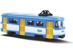 Rappa Mini kovová tramvaj DP Ostrava