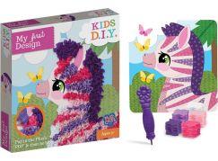 Rappa obrázek kreativní zebra s textilem
