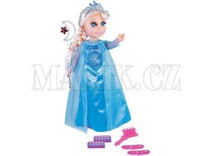 Rappa Panenka zimní princezna blond s příslušenstvím