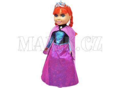 Rappa Panenka zimní princezna zrzka s příslušenstvím