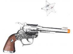 Rappa pistole kovbojská s odznakem Sheriff