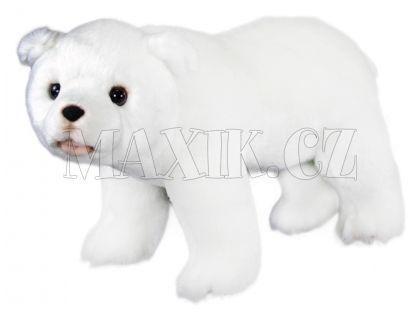 Rappa plyšový lední medvěd stojící 28cm