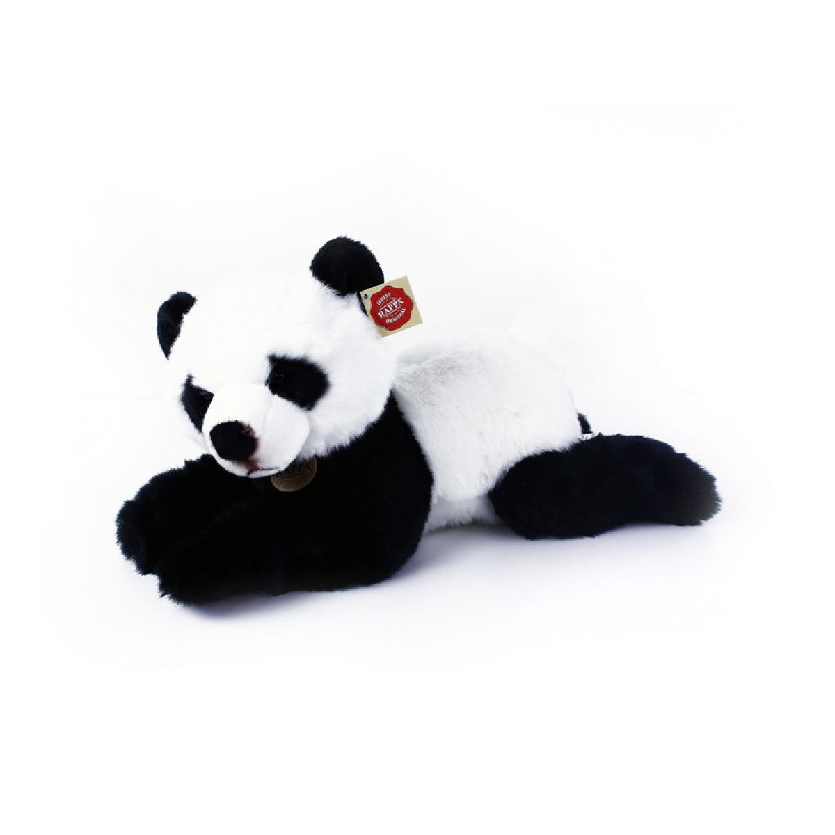 Rappa plyšová panda ležící 43 cm