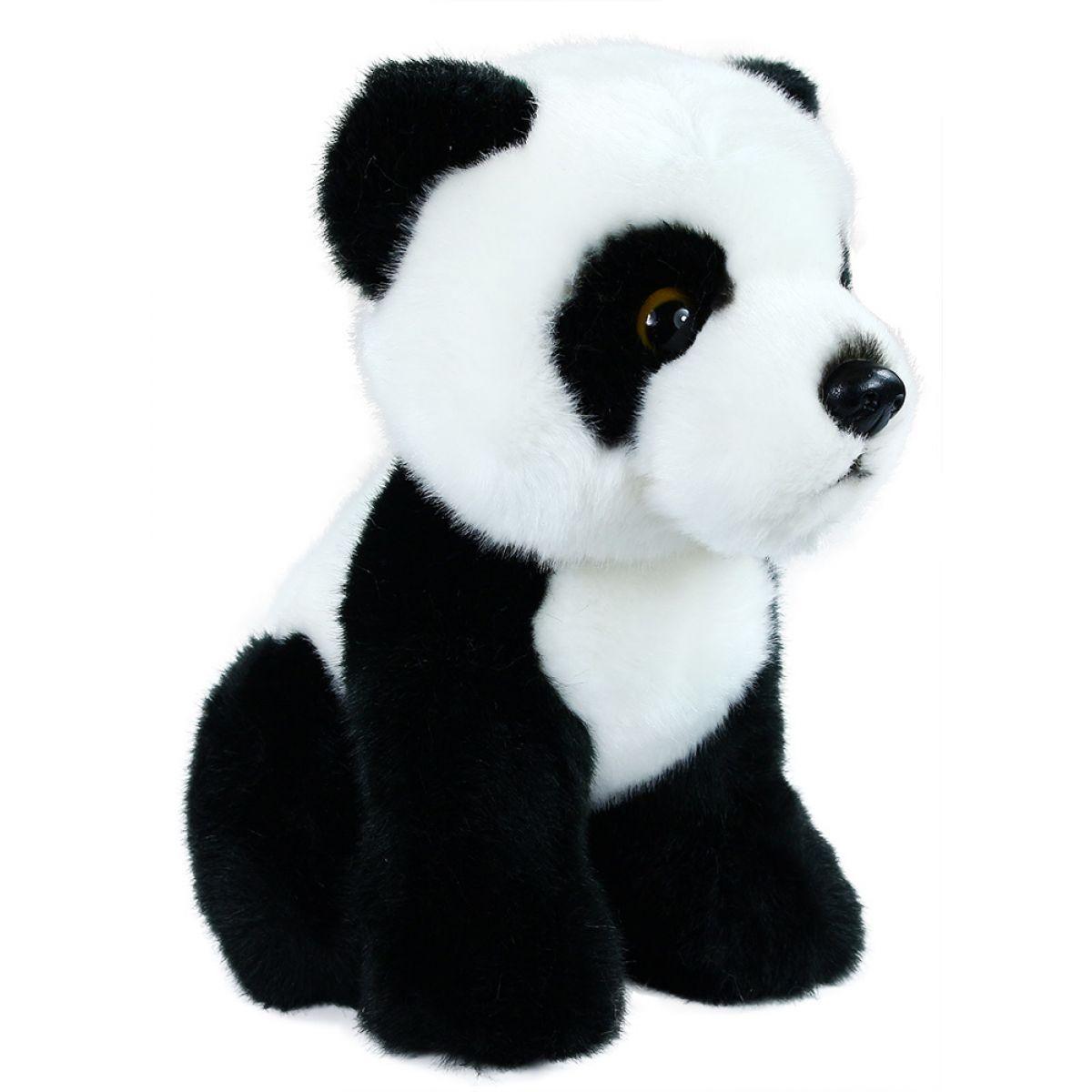 Rappa plyšová panda sedící 18 cm