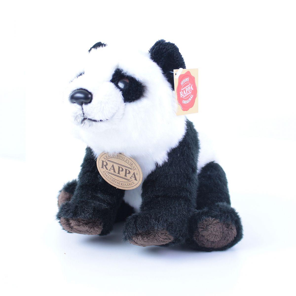 Rappa plyšová panda sedící nebo stojící 22 cm
