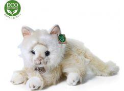 Rappa Plyšová perská kočka béžová ležící 30 cm