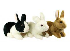 Rappa plyšový králík ležící 23 cm