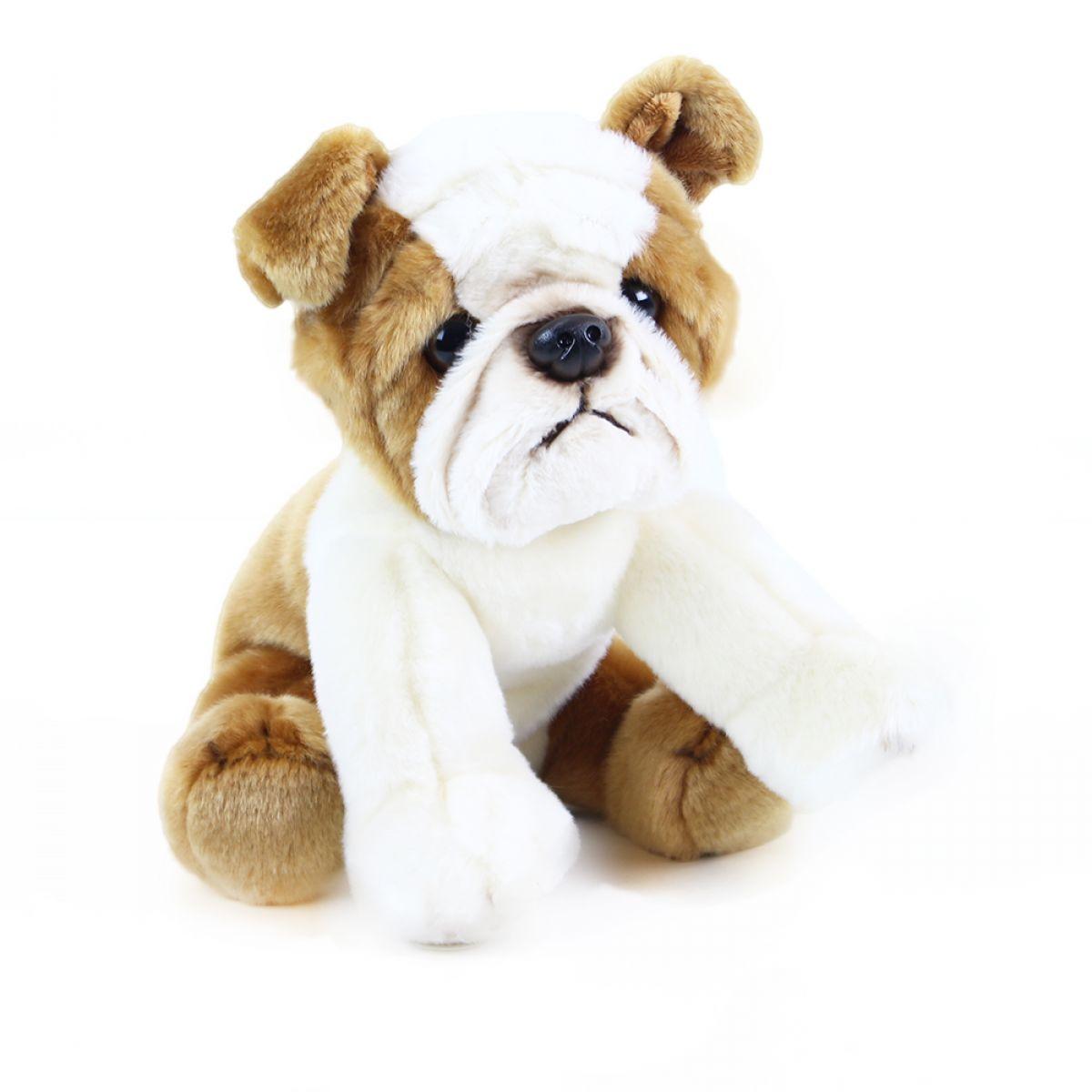 Rappa plyšový pes bulldog 26 cm
