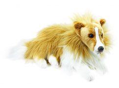 Rappa plyšový pes kolie 38 cm