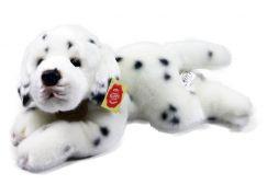 Rappa plyšový pes ležící  30 cm Dalmatin
